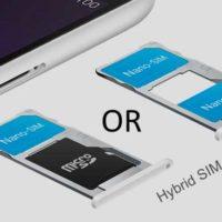 hybrid SIM card slot meaning