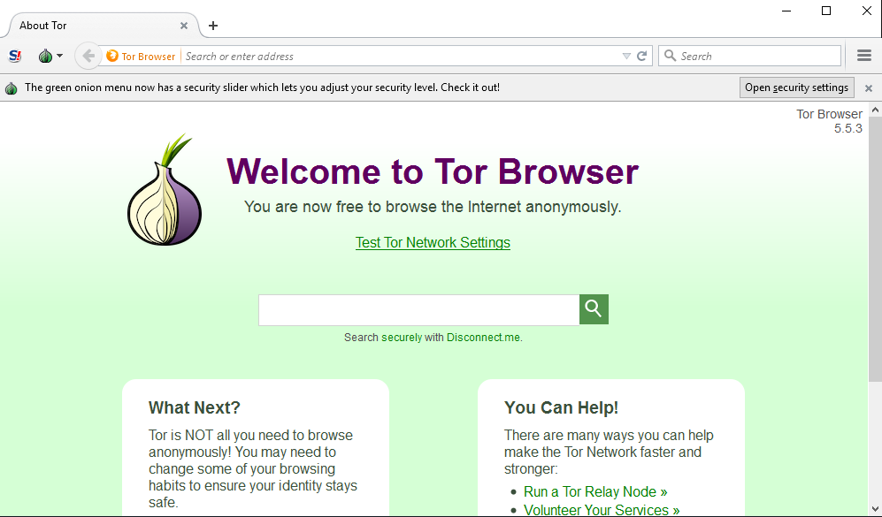 TOR browser is used for browsing the dark web