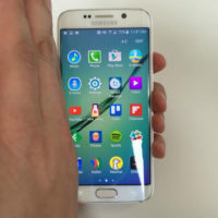 hand swipe motion to capture screenshot on samsung galaxy s6 s7
