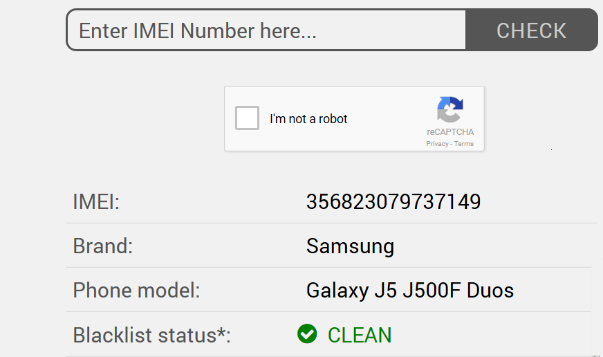 find imei number to check for a stolen phone while buying a used device.
