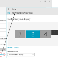 change font size in windows 10