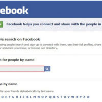 facebook people search helps you in finding people on FB without login