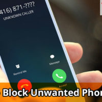This image shows a banner for block call article.
