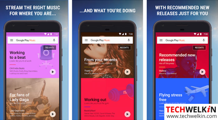 google music play app can be used to download music