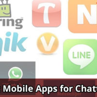 This is a banner image showing whatsapp alternatives and best mobile apps for chatting.