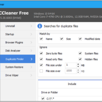 ccleaner can find and delete duplicate files from your computer