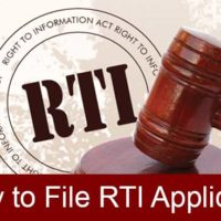 how to file rti application