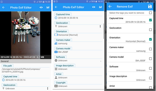 photo exif editor app for iphone can remove exif data