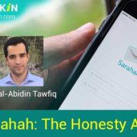 sarahah - the honesty app