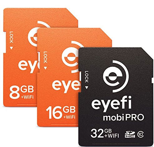 Wi-fi SD cards from eyefi