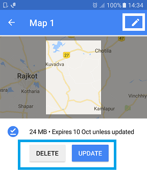 Download Google Maps Offline Navigation on Android or iPhone