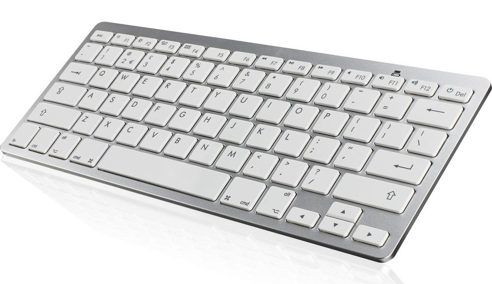 An Apple Keyboard